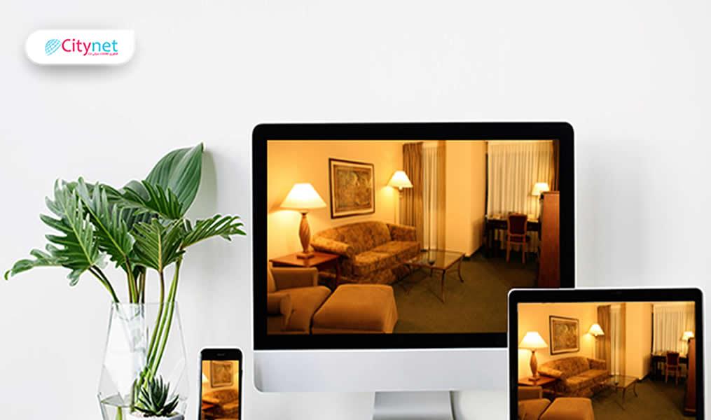 طراحی وب سایت هتلداری