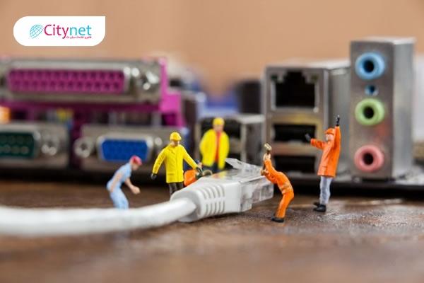 سخت افزار و انواع شبکه